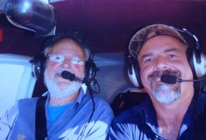 Andrew (Right) assesses Rob's BFR